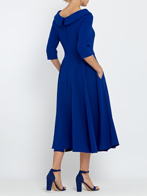 Marilyn Blue Dress