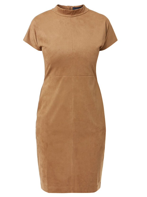 Cindy Camel Dress