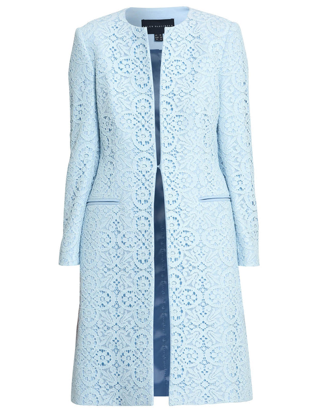 Helen Light Blue Coat
