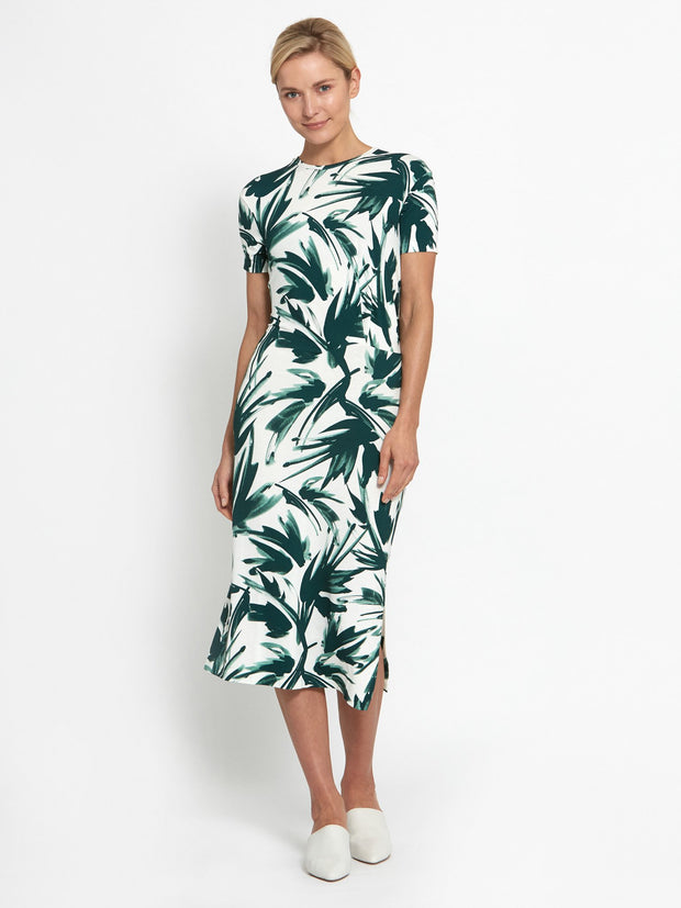 Jennifer Print Dress