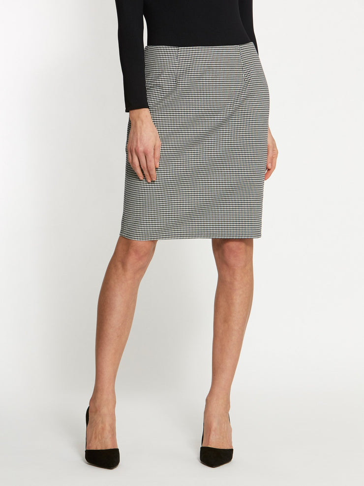 Vickie Gingham Skirt