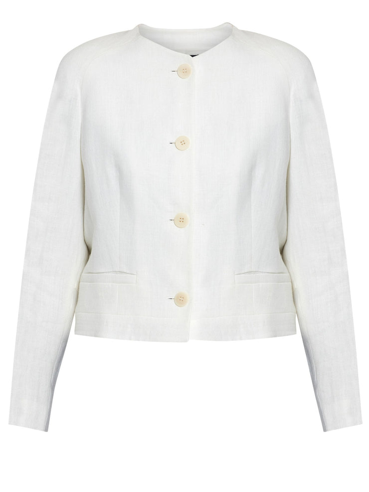 Melody White Cream Jacket