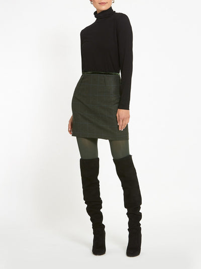 Kylie Magee Tweed Mini Skirt