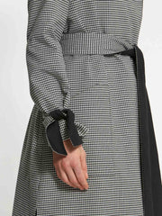 Lydia Gingham Trenchcoat