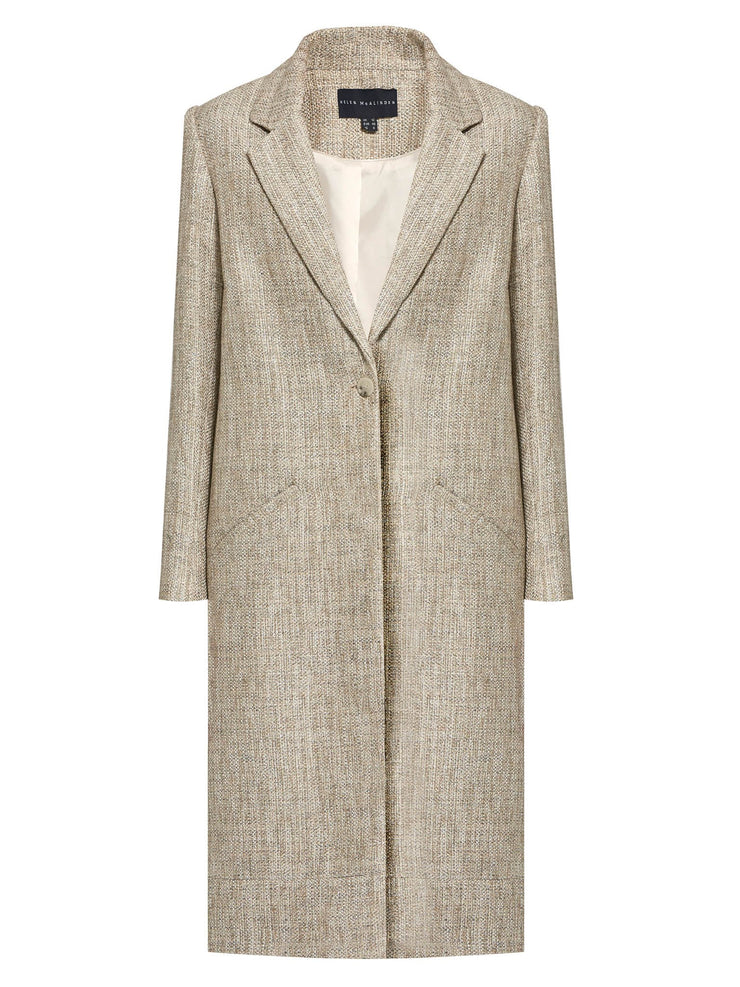 Barbara Gold Boucle Coat
