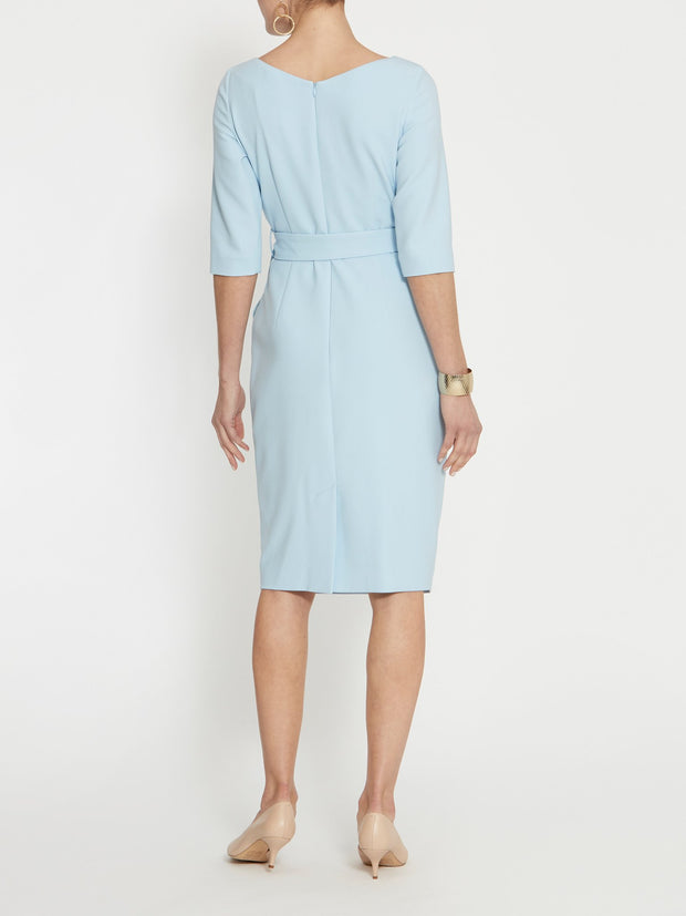 Caroline Pale Blue Dress