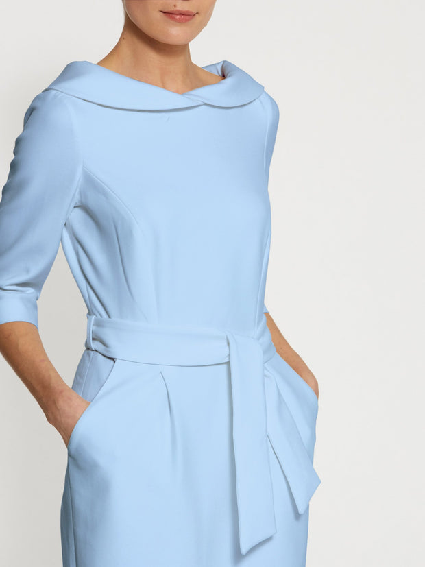 Elsa Light Blue Dress