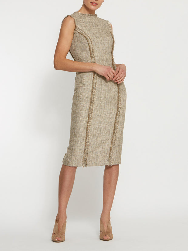 Rhonda Gold Boucle Dress