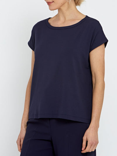 Gina Navy Top