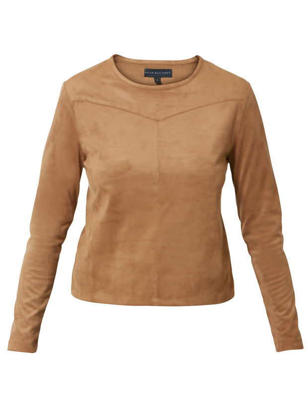 Susy Suede Top