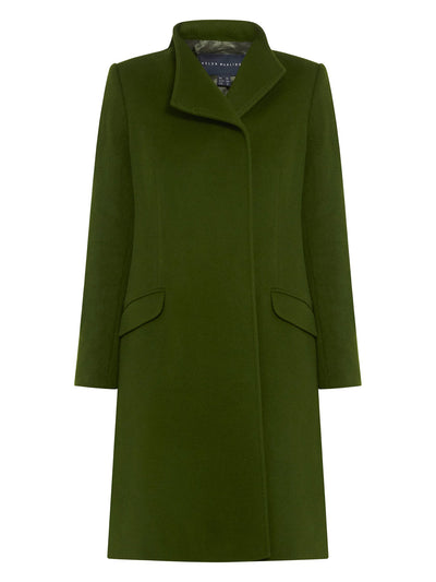 Linda Hunter Green Coat