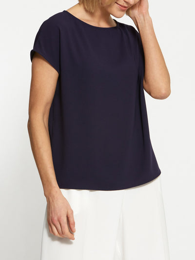 Lucy Navy Top