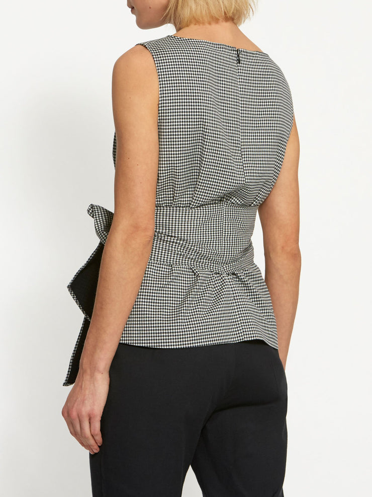 Maggie Gingham Top