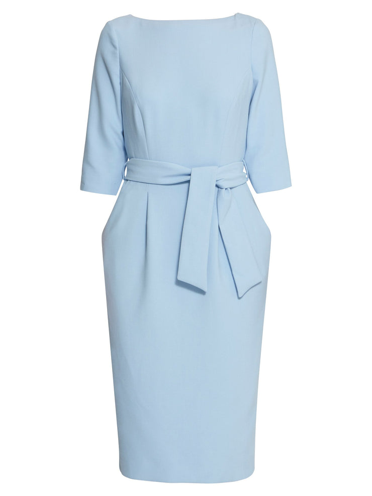 Caroline Light Blue Dress