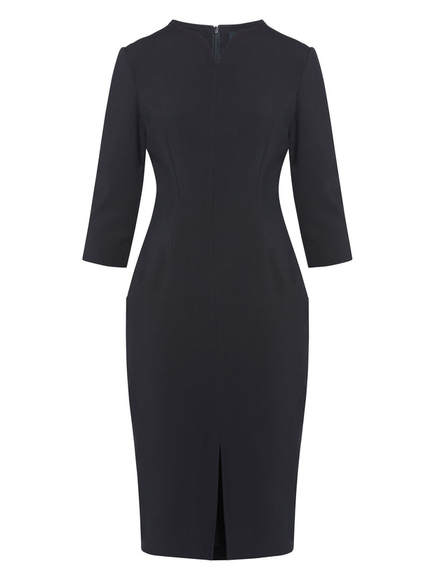 Emma Dark Navy Dress