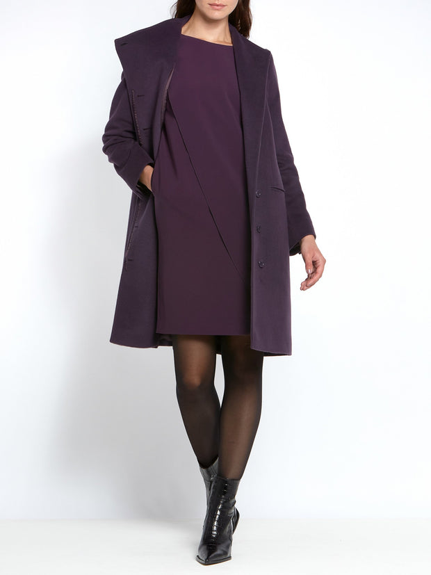Faye Mulberry Coat