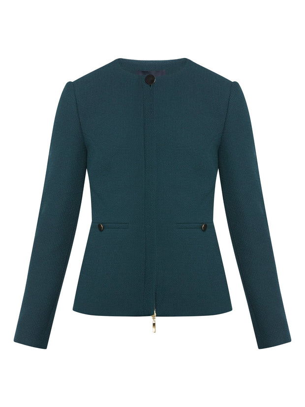 Hailey Teal Jacket