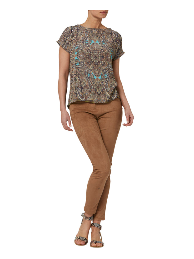 Lucy Paisley Blouse