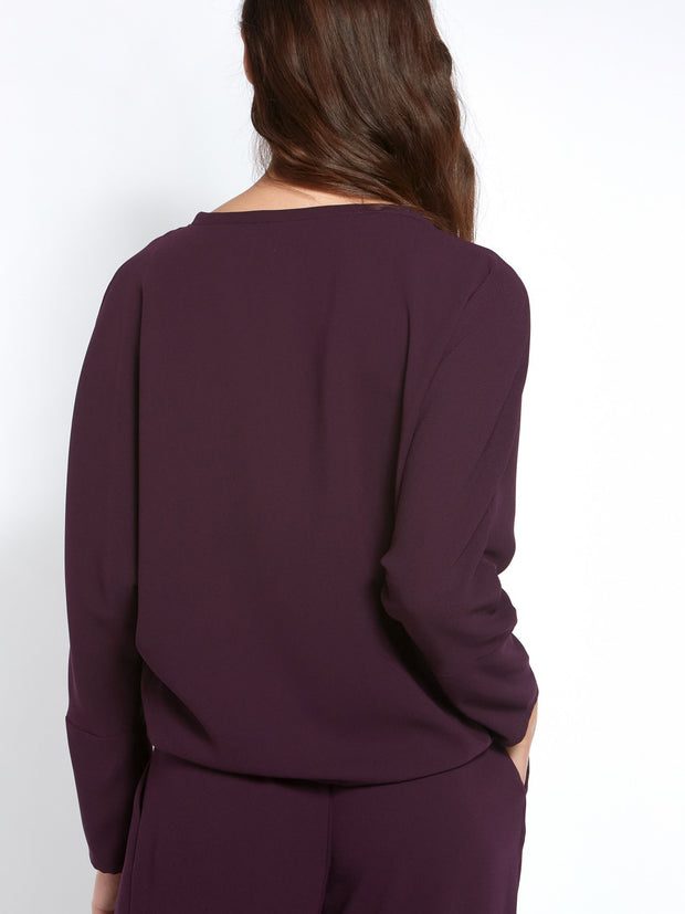 Lal Mauve Top