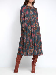 Louisa Paisley Dress