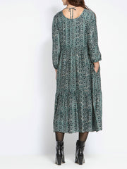 Louisa Teal Dress