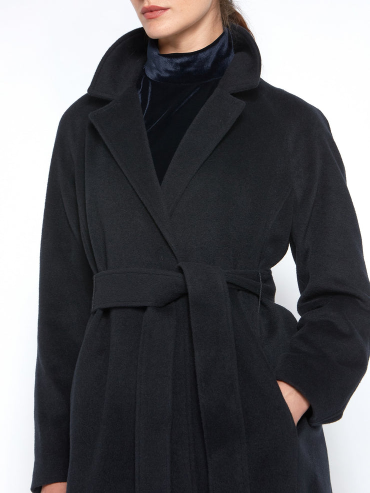 Michelle Navy Coat