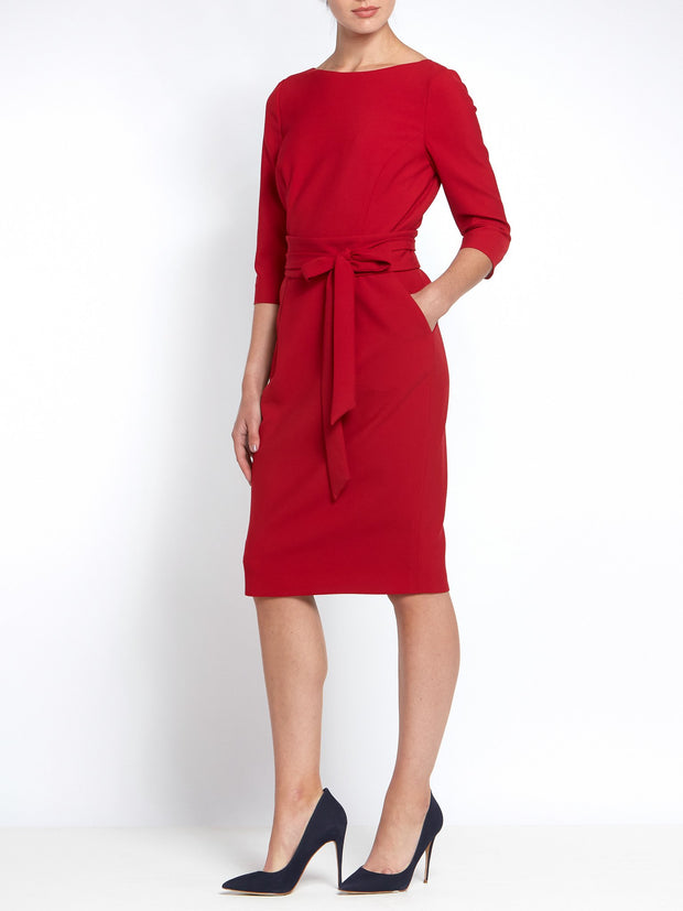 Obi Imperial Red Dress