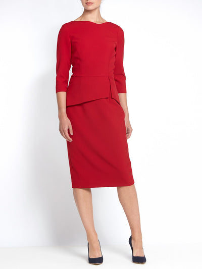 Rema Imperial Red Dress