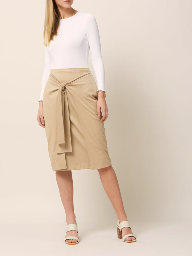 Carrie Beige Skirt