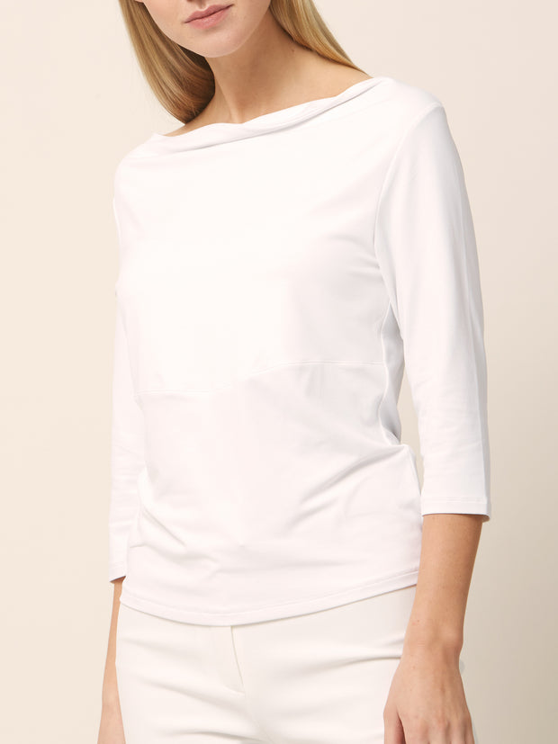 Cowel White Top
