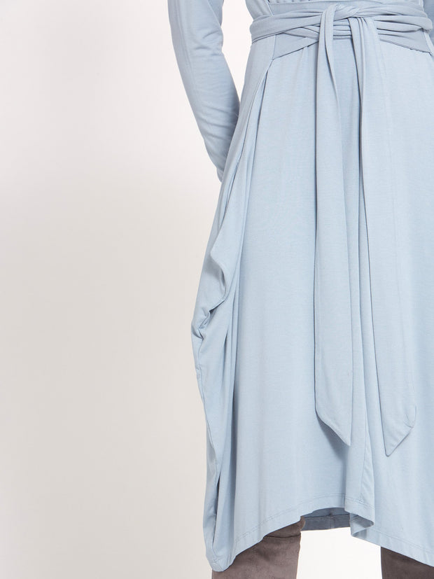 Vee Light Blue Dress
