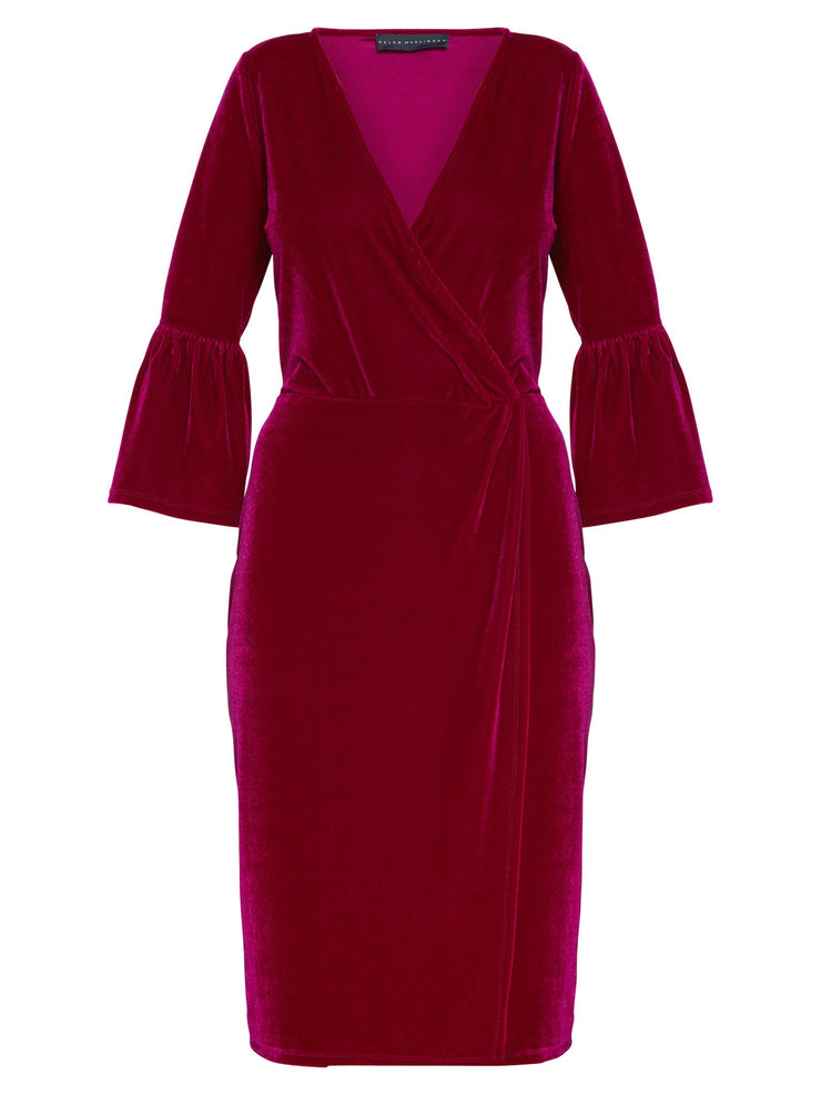 Scarlett Fuchsia Dress