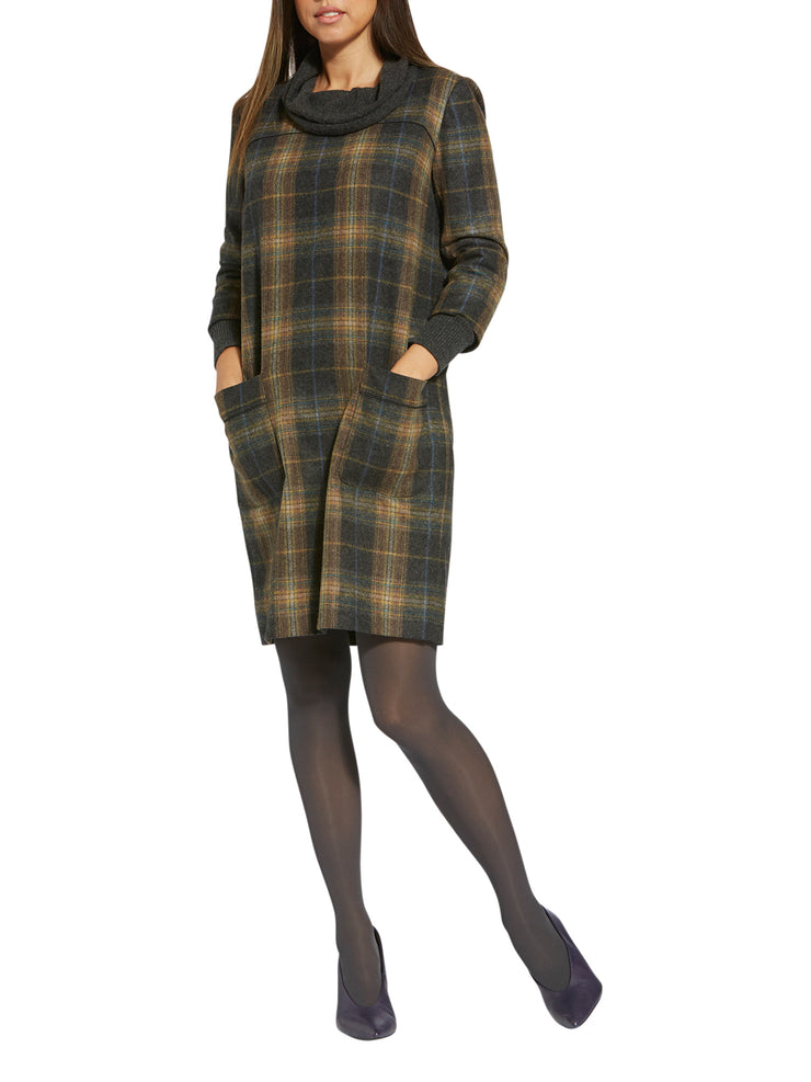 Cilla Check Dress