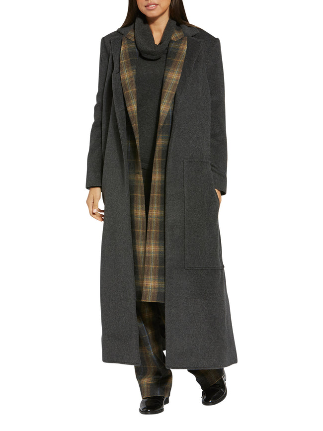 Darina Anthracite Coat