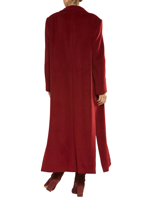 Darina Ruby Red Coat