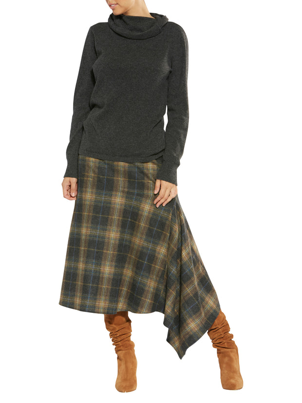 Maddison Check Skirt