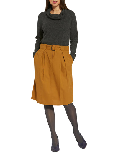 Ellie Mustard Skirt