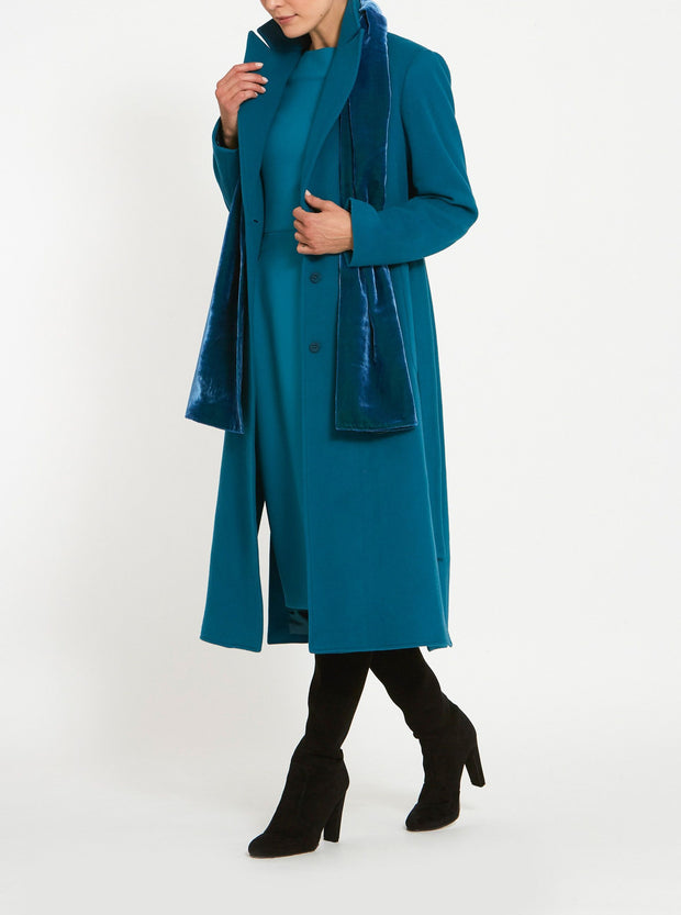 Serena Atlantic Teal Coat