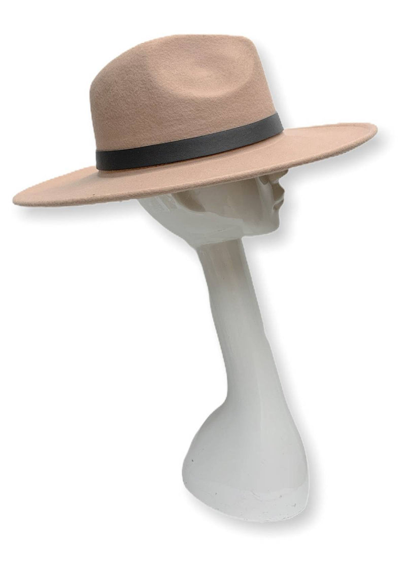 Best Dressed Fedora Hat (Cream)