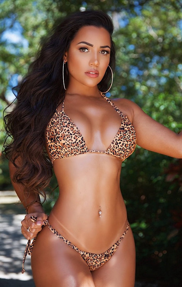 Such A Tease G String Bikini (Cheetah)