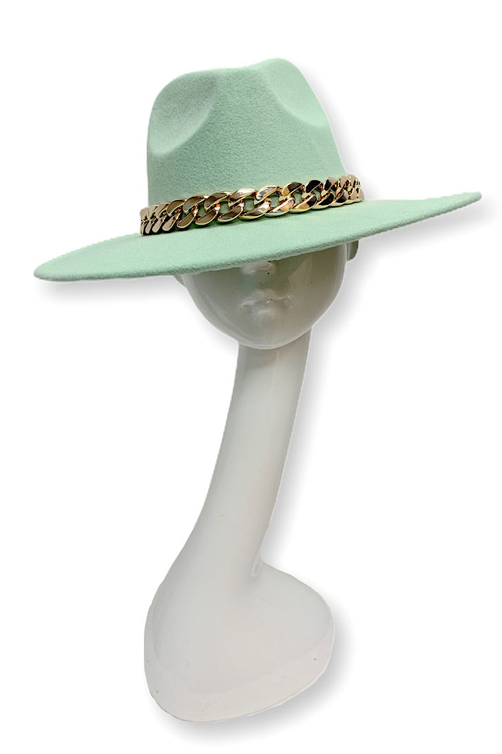 Best Dressed Fedora Hat (Turquoise)