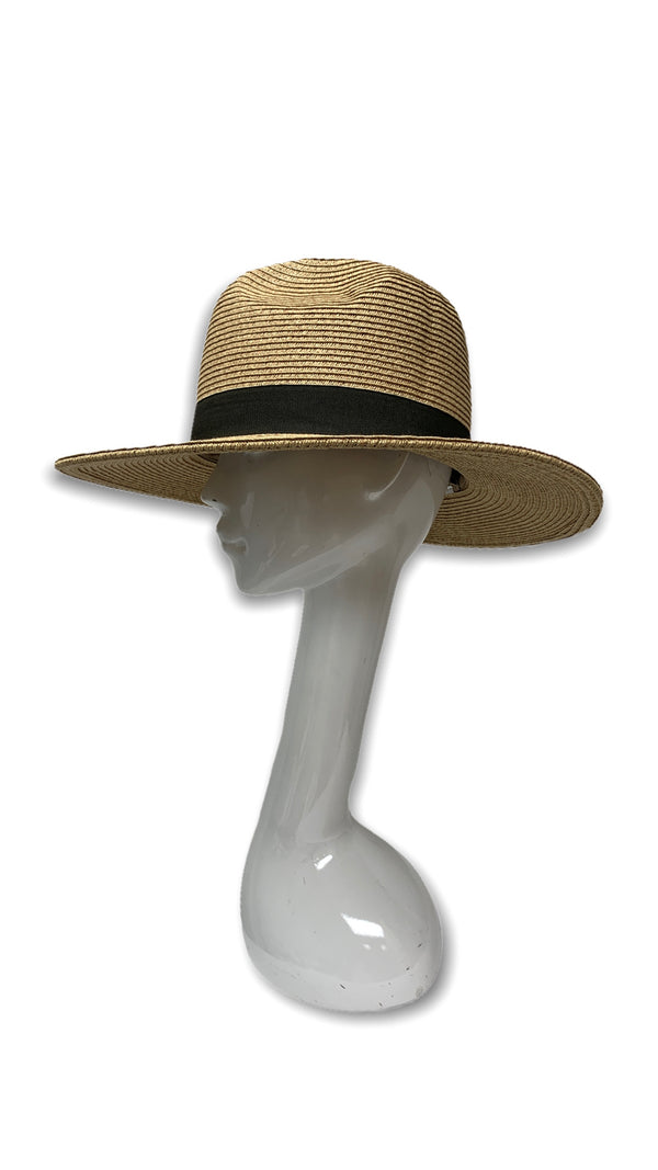 Little Havana Big White Hat (Brown)