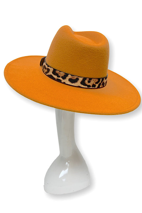 Best Dressed Fedora Hat (Orange)
