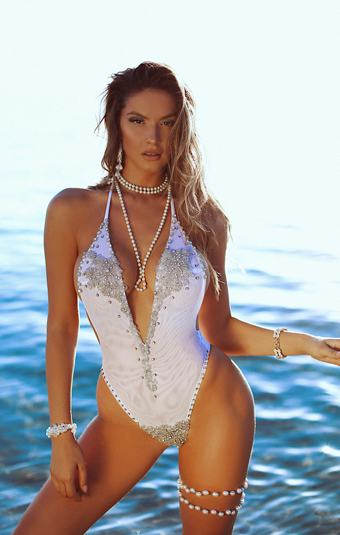 Hit the lotto twice One Piece Swimsuit