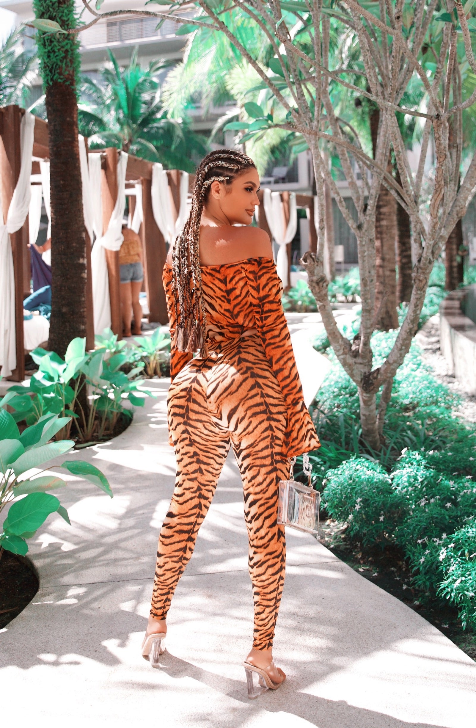 Eye of the tiger 2Piece outfit