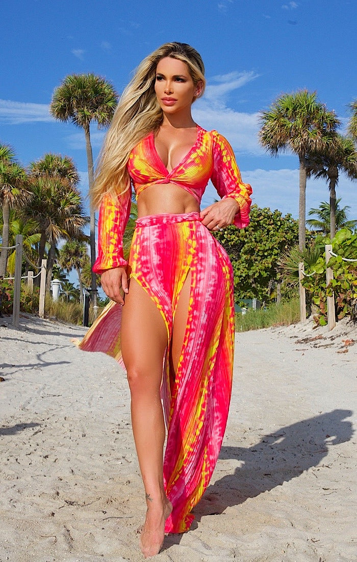 So Groovy 2 piece dress