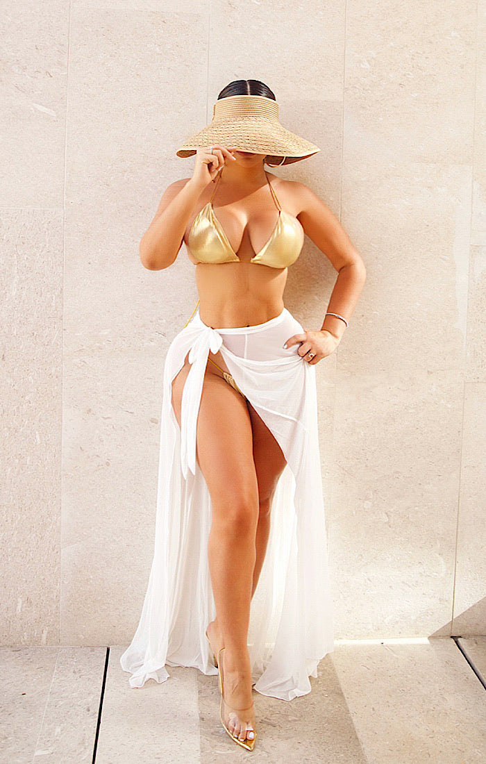 Sun Blocker Hat (NUDE)