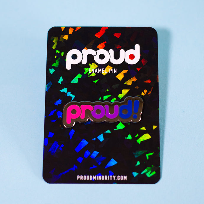 Proud Bisexual Pin
