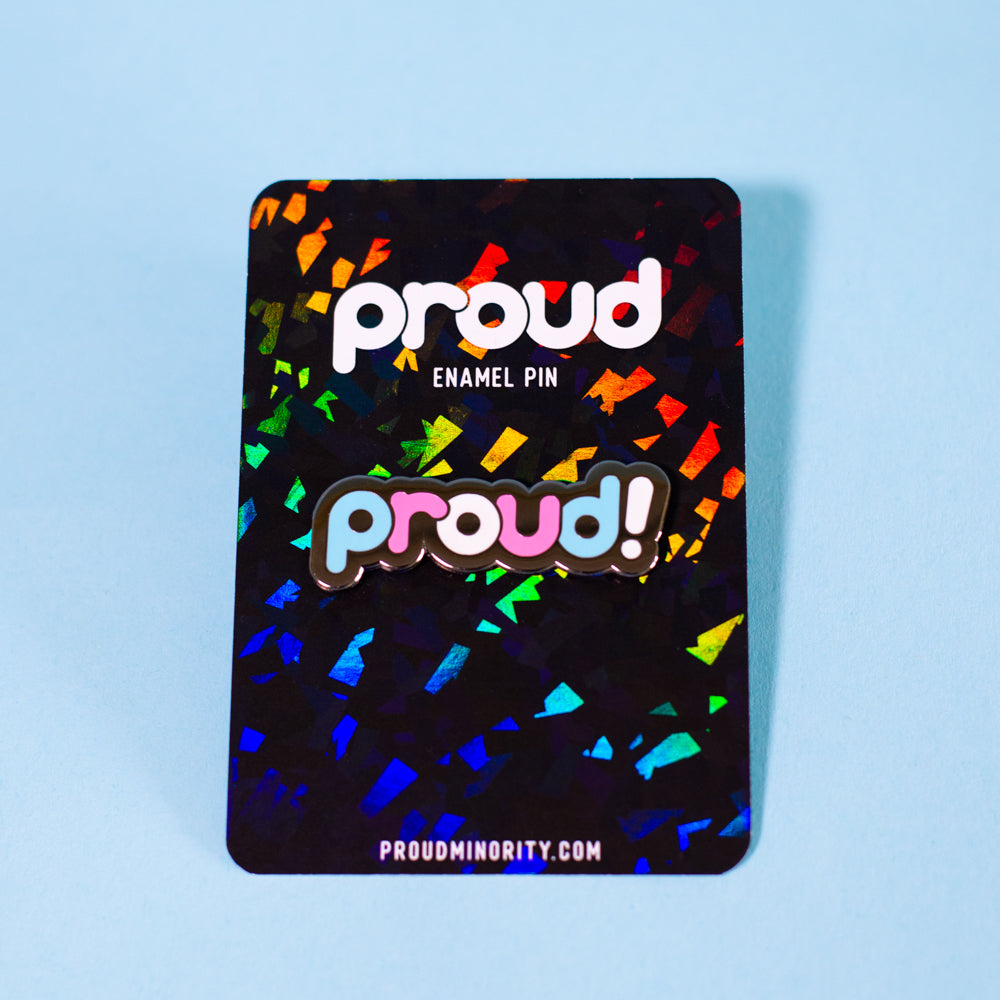 Proud Transgender Pin