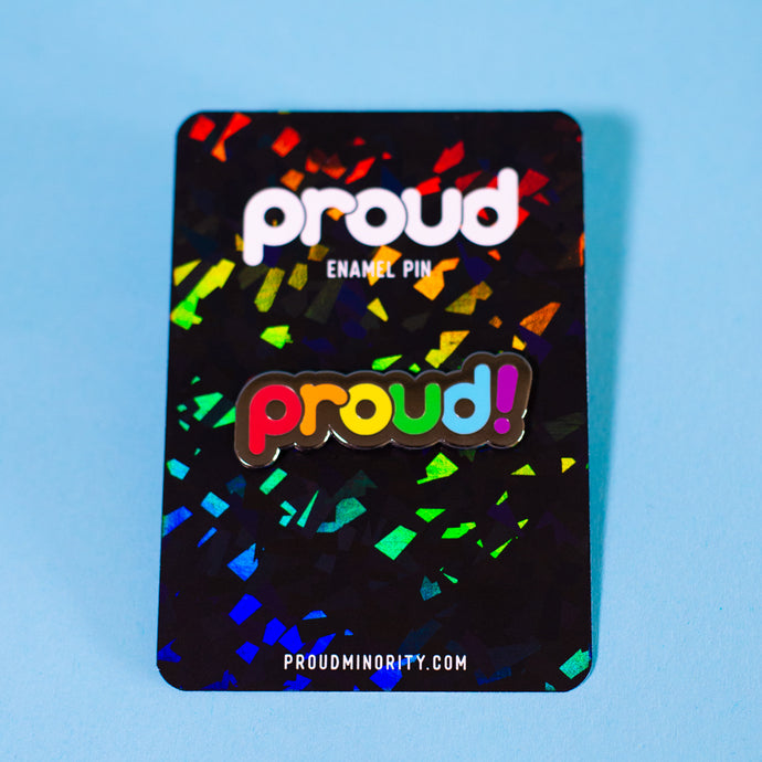 Proud Rainbow Pin